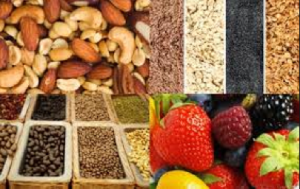 The foods that are high in fibre are too numerous to list and include delectable tastes to please your palette.